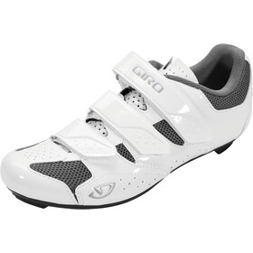 Giro Techne Shoes Dame white/silver